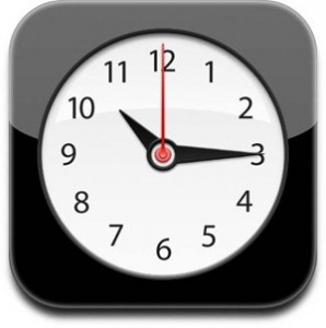 Apple Alarm Clock Icon