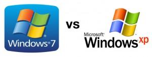 Windows 7 vs Windows XP