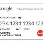 Google AdWords Business Credit Card