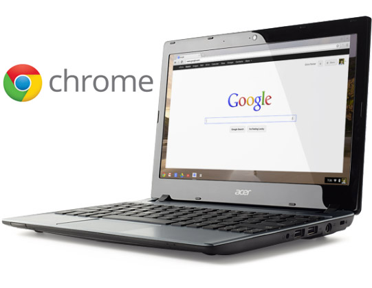 Google may release touchscreen Chromebook