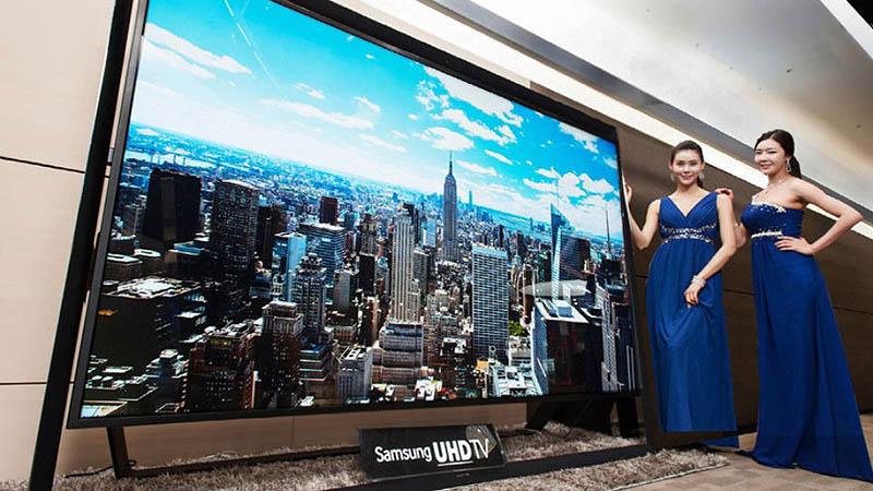 Samsung 110 inch Ultra HD TV